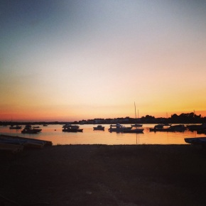 Wordless Wednesday #4. Mudeford Quay Sunset (Dorset, UK)