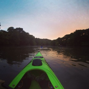 Wordless Wednesday #11. Kayaking Adventures (Cornwall, UK)