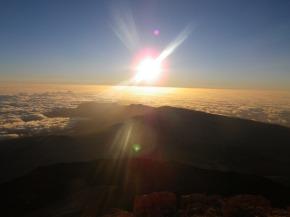 Wordless Wednesday #12. Sunrise on the Summit of El Teide (Tenerife,Spain)