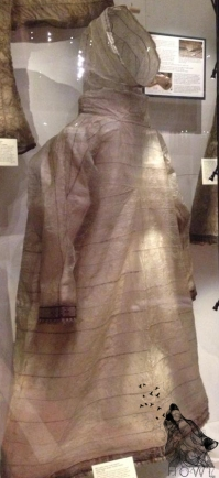 Waterproof Jacket made out of seal intestines!