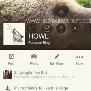 HOWL is Now onFacebook!